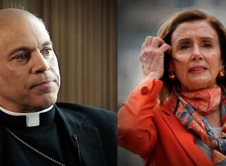 Pelosi e Biden insultano i pro life, un vescovo risponde