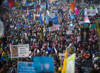 La Marcia per la Vita e la promessa di Trump: «Porrò il veto a ogni legge abortista»