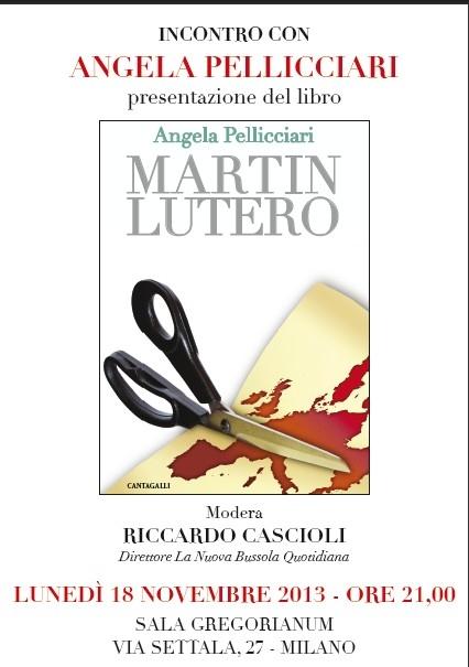 """""""Martin Lutero"""" di Angela Pellicciari"""