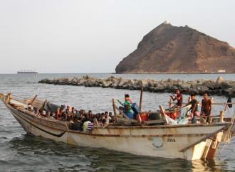 Il 19 luglio una imbarcazione con 160 emigranti a bordo è affondata nel golfo di Aden