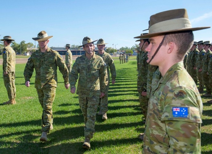 Truppe australiane