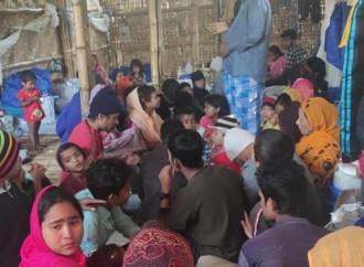 Nei campi profughi di Cox's Bazar in Bangladesh in attesa del Covid-19