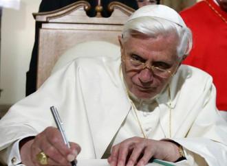 """L'ultima """"enciclica"""" di Benedetto XVI"""