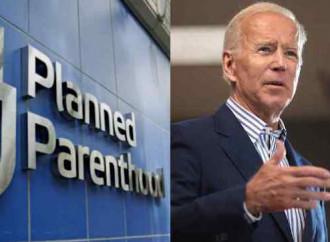 Il colosso degli aborti si schiera con Biden