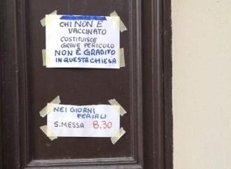 """""""Fuori dalla chiesa i non vaccinati"""". Comincia Casale Monferrato"""
