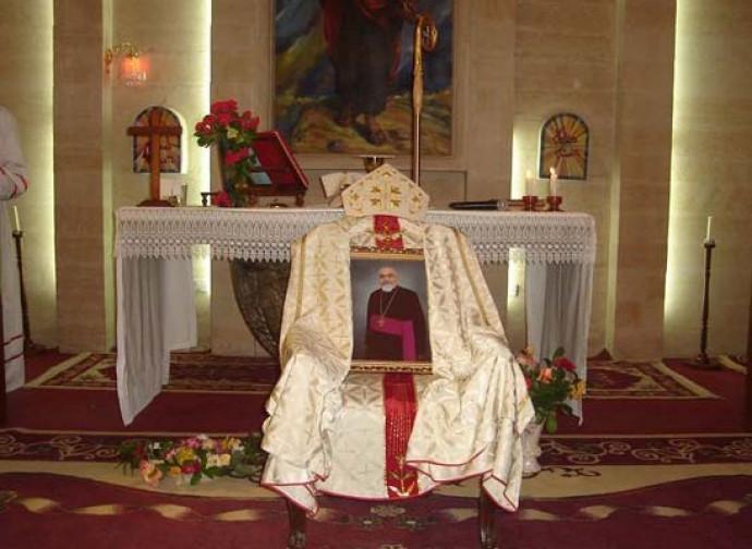 Il ricordo di monsignor Rahho nella chiesa di San Paolo a Mosul