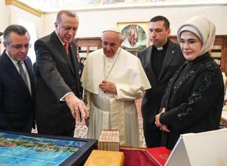 Il Papa incontra Erdogan