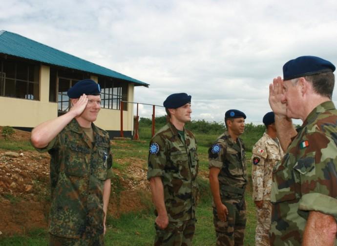Uomini della missione Ue in Somalia
