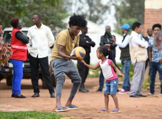 In Rwanda vaccini anche per i rifugiati