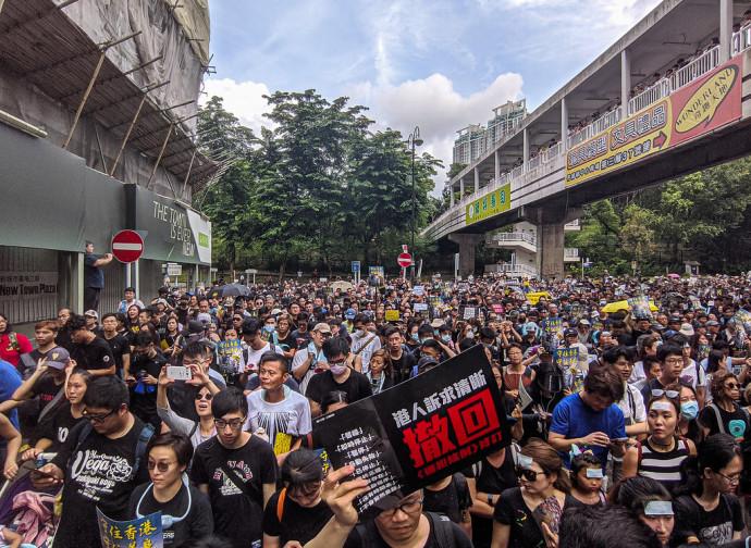 Hong Kong, la protesta