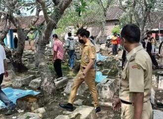 Profanato un cimitero cristiano in Indonesia