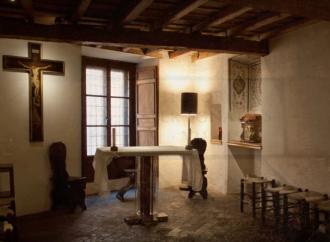 Le stanze dove sant'Ignazio contemplava l'Eterno