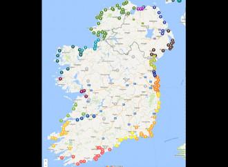 Rosario sulla costa per la vita e la fede in Irlanda