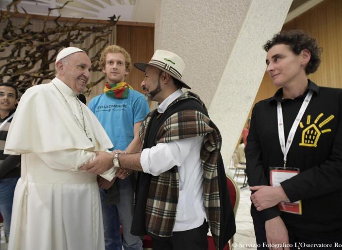 Il Papa coi movimenti nel 2016