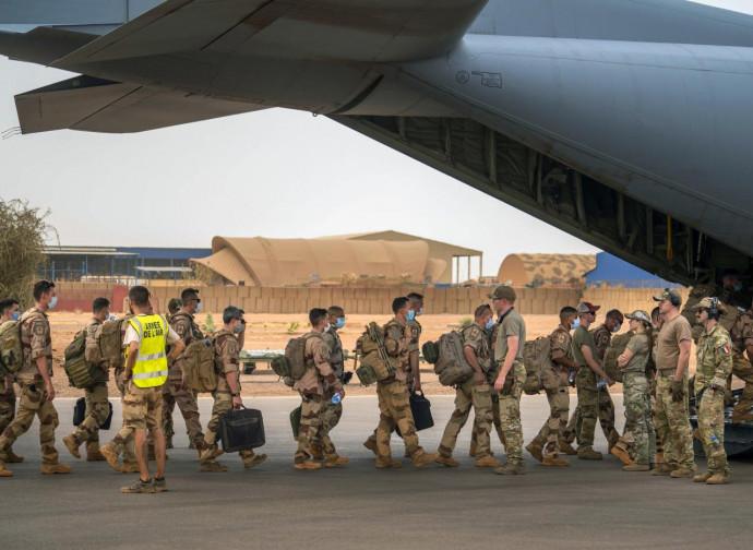Mali, i francesi tornano a casa