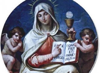 L'Eucaristia, il vero Corpo nato da Maria Vergine