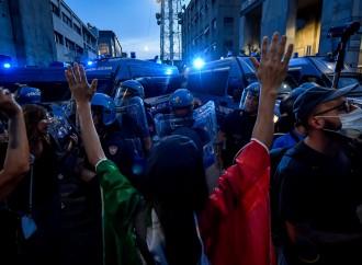 I media non parlano delle proteste contro il Green Pass