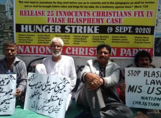 Sciopero della fame in Pakistan per il cristiano condannato a morte per blasfemia