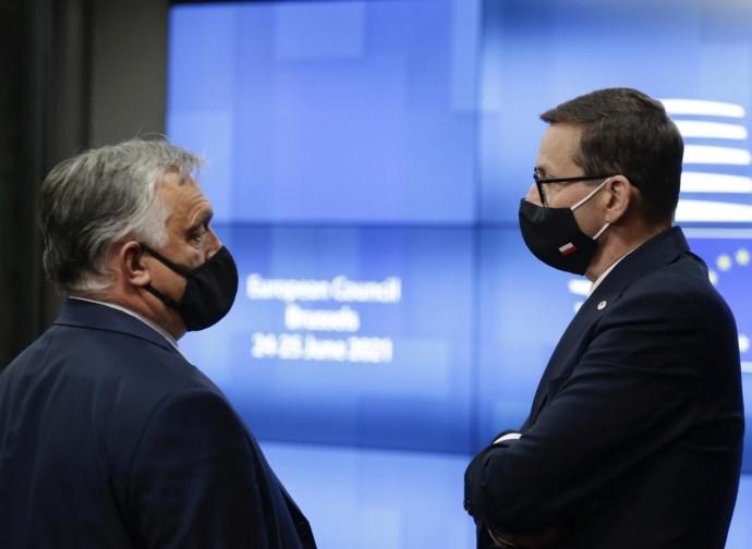 Orban e Morawiecki