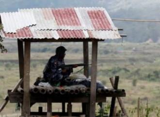 I militari hanno colpito altre due chiese in Myanmar
