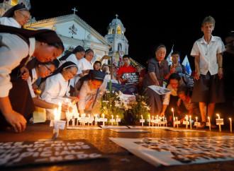 La polizia a protezione dei sacerdoti minacciati di morte