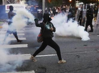 La difficile lotta di Trump contro gli Antifa(scisti)