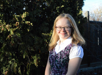 Sarah, la 17enne Down, nuova stella del mondo pro life