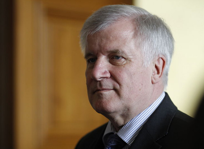 Il ministro dell'Interno tedesco Horst Seehofer
