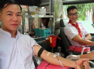 Durante la Quaresima i cattolici dell'arcidiocesi di Ho Chi Minh City donano sangue