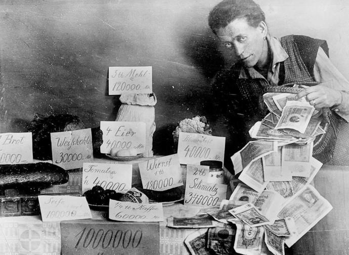 La grande inflazione tedesca del 1921